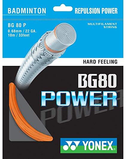 Opstrengning - badminton - Yonex BG 80 Power ...