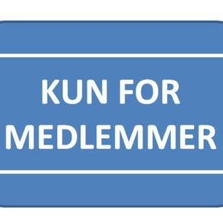 KUN FOR MEDLEMMER