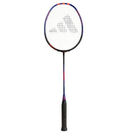 Badminton-ketcher. Kongeblå med lidt orange.