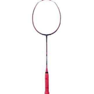 Badminton-ketcher. Rød og sort. Rødt håndtag.