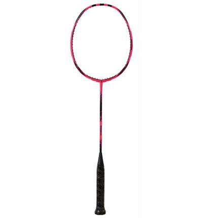 Badminton-ketcher. Farven er pink - vi er alle lige uanset køn og race kampagne OL.