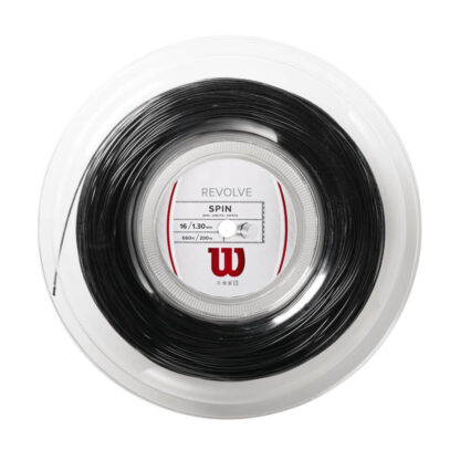 Reel with white black string