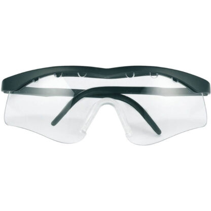 Squash protection goggles. Slim design. Black frame.