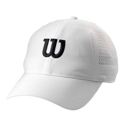 "Cap - White with black ""W"""