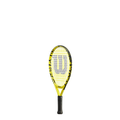 """Junior tennis racquet (17"""") with Minions icons (sideview)"""