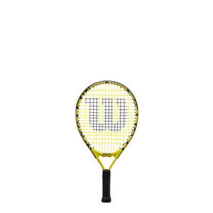 """Junior tennis racquet (17"""") with Minions icons."""