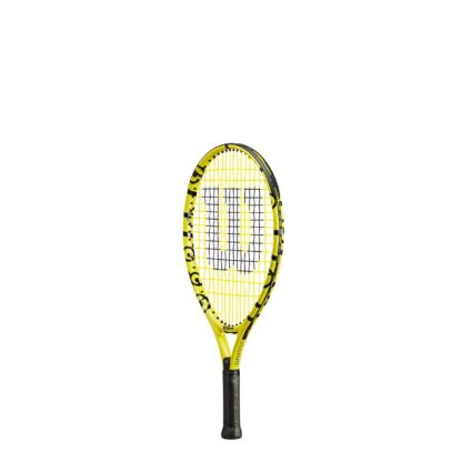"""Junior tennis racquet (19"""") with Minions icons (sideview)"""