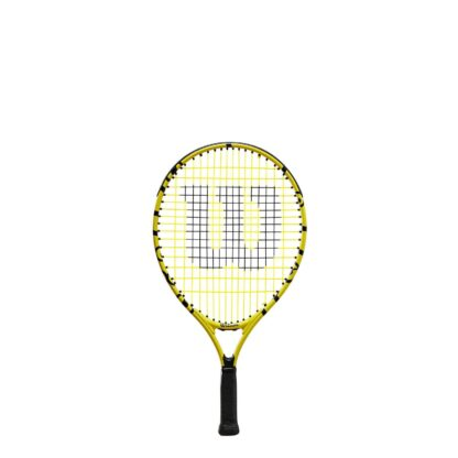 """Junior tennis racquet (19"""") with Minions icons."""