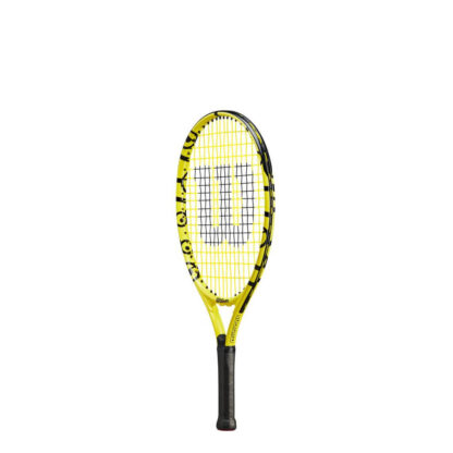 """Junior tennis racquet (21"""") with Minions icons (sideview)"""