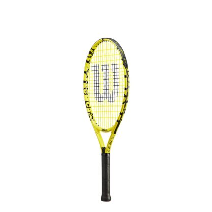 """Junior tennis racquet (23"""") with Minions icons (sideview)"""