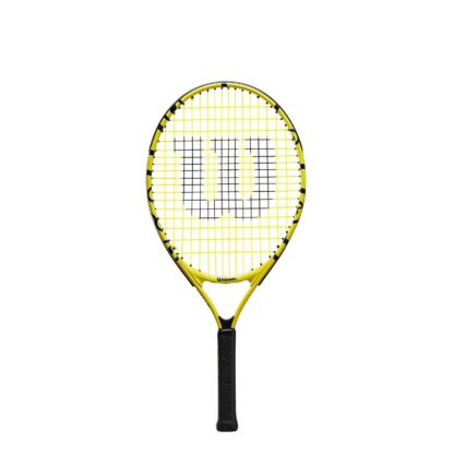 """Junior tennis racquet (23"""") with Minions icons."""