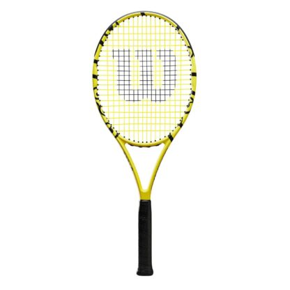 """Junior tennis racquet (25"""") with Minions icons."""