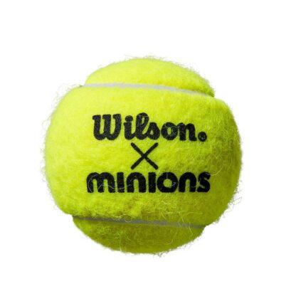 "Tennis ball with ""Wilson x Minions"""