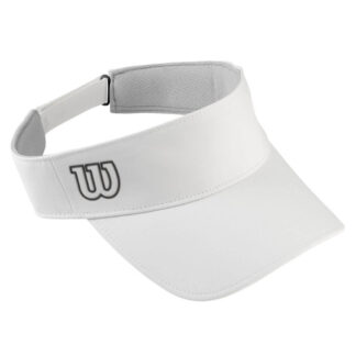 "Visor - White with ""W"" on right side"