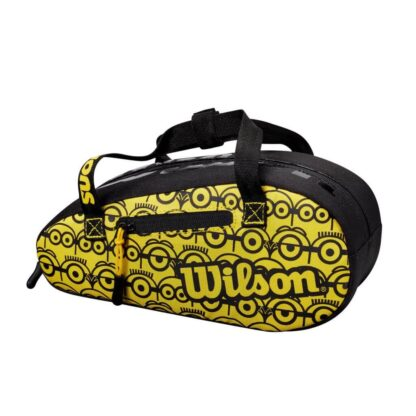 Little mini(ons) bag - with ikons of minions. Colour: yellow and black