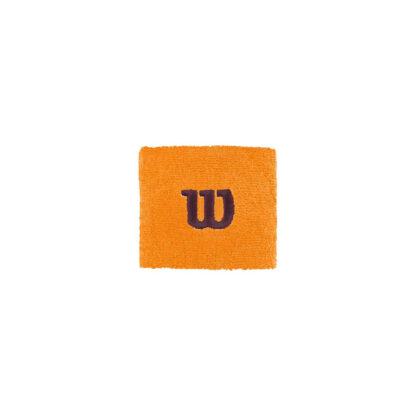 Wristband - orange with brown W (Wilson)
