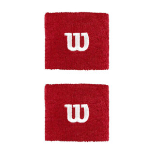Wristband - red with white W (Wilson)